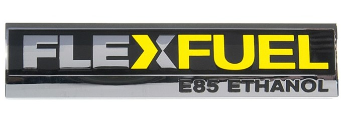 Metallic Vehicle Name Plate