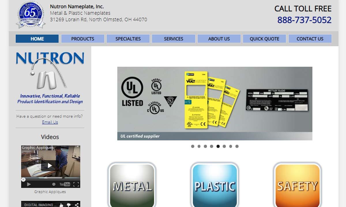 Nutron Nameplate, Inc