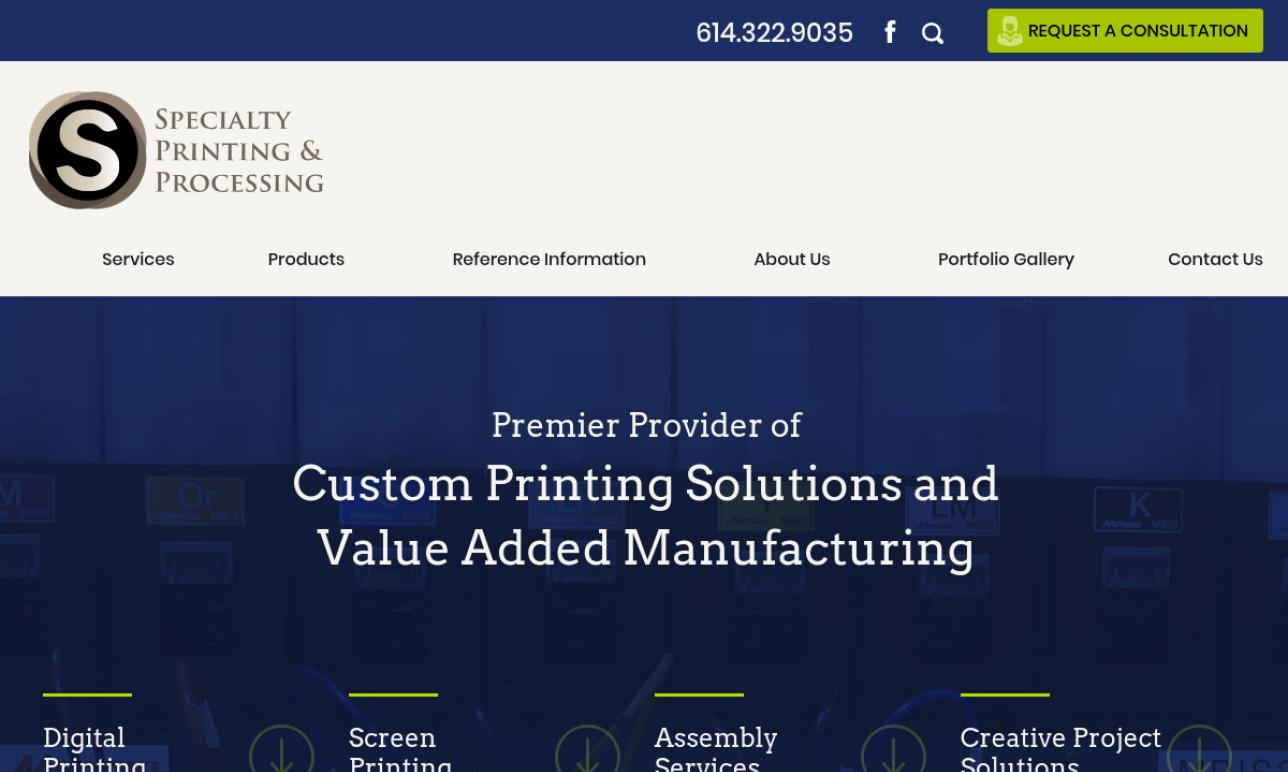 Specialty Printing and Processing