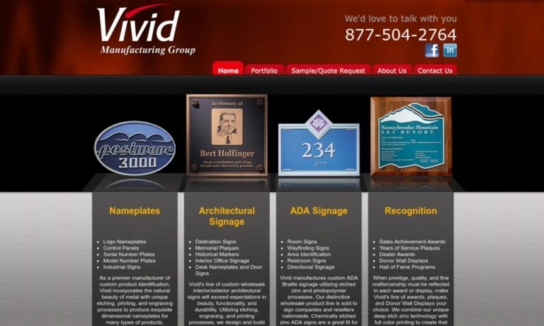 Vivid Manufacturing Group