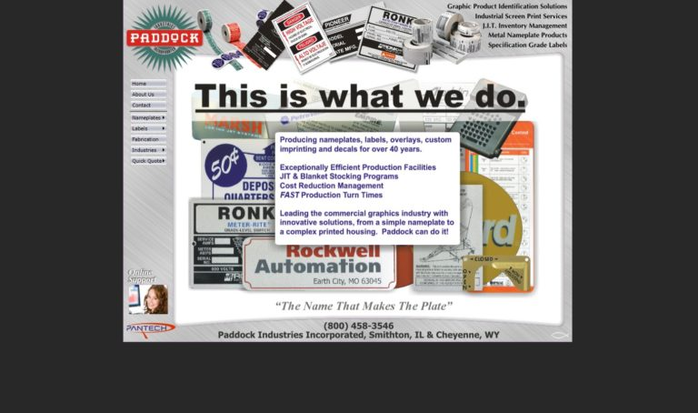 Paddock Industries, Inc.
