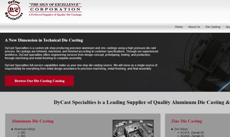 DyCast Specialties Corporation